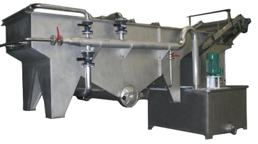 Lavador para productos granulosos