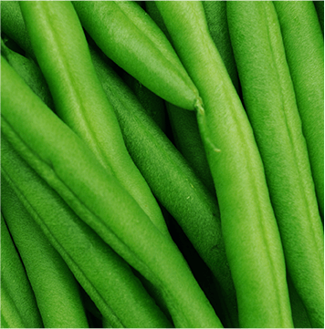 Long and thin vegetables